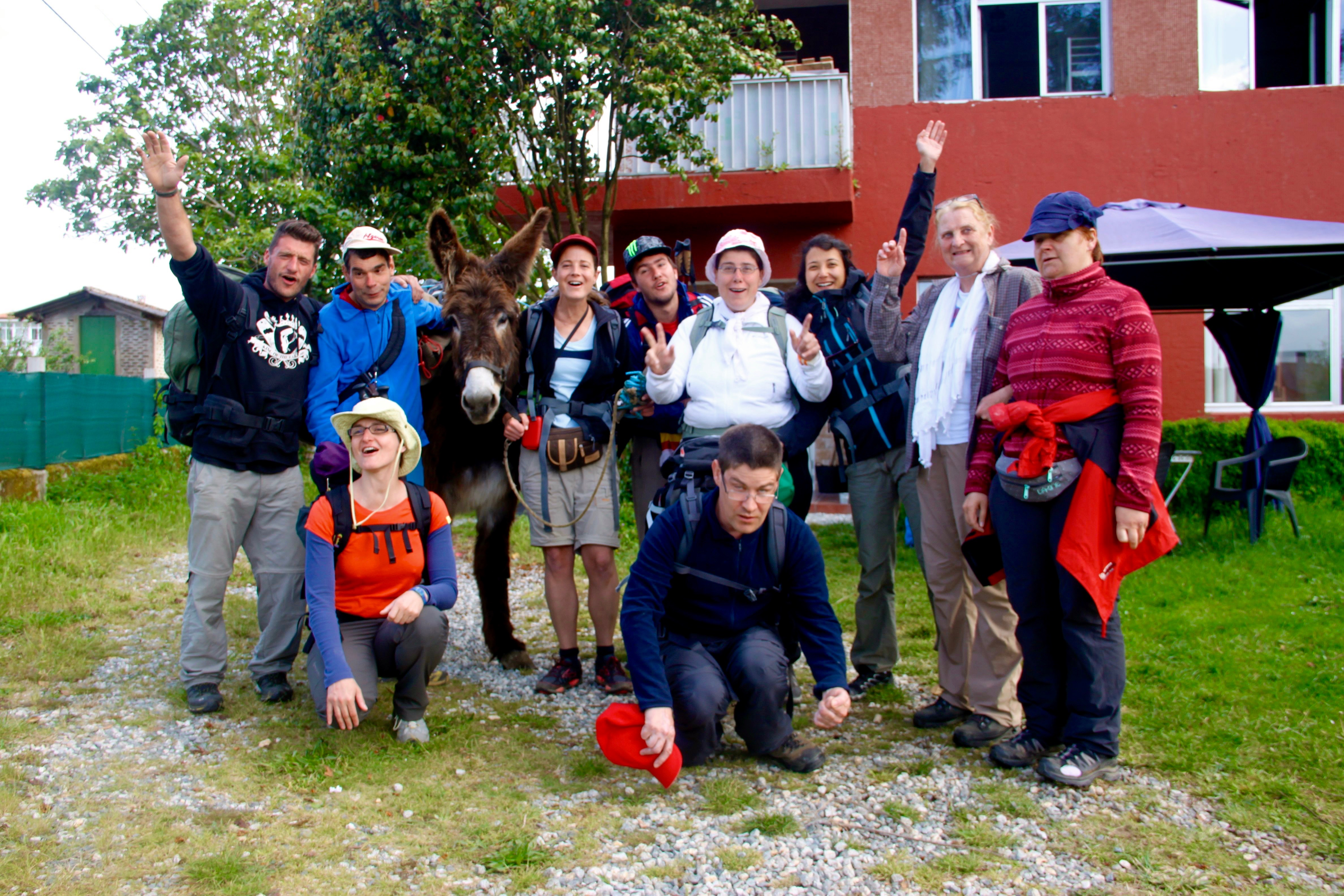 Trekking de l'association Buen Camino - Tous ensemble