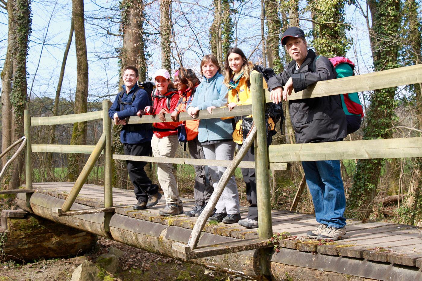 Trekking dans la nature - Association Buen Camino